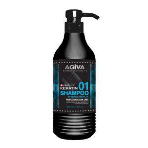 Agiva keratin professional shampoo (intense repair)
